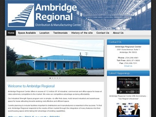 Value Ambridge Properties at the Ambridge Regional Distribution & Manufacturing Center