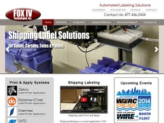 FOX IV Technologies, Inc., - Labeling Solutions